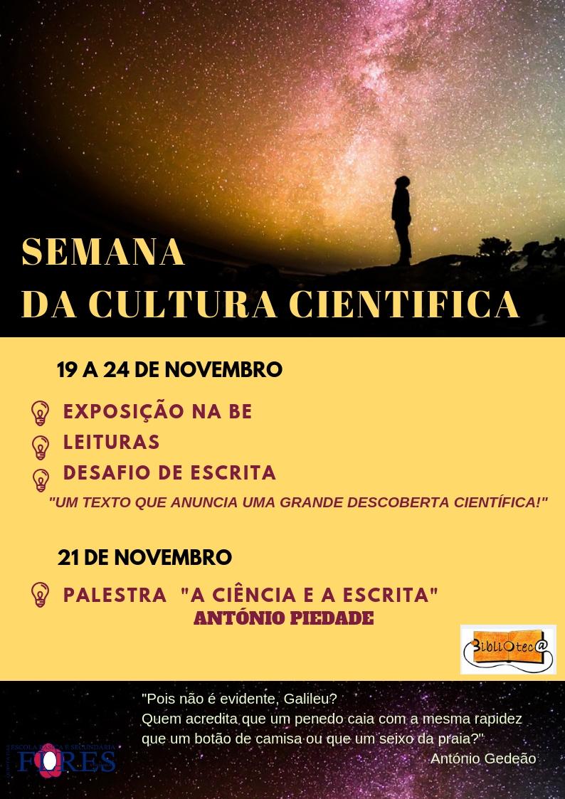 Semana da Cultura Científica