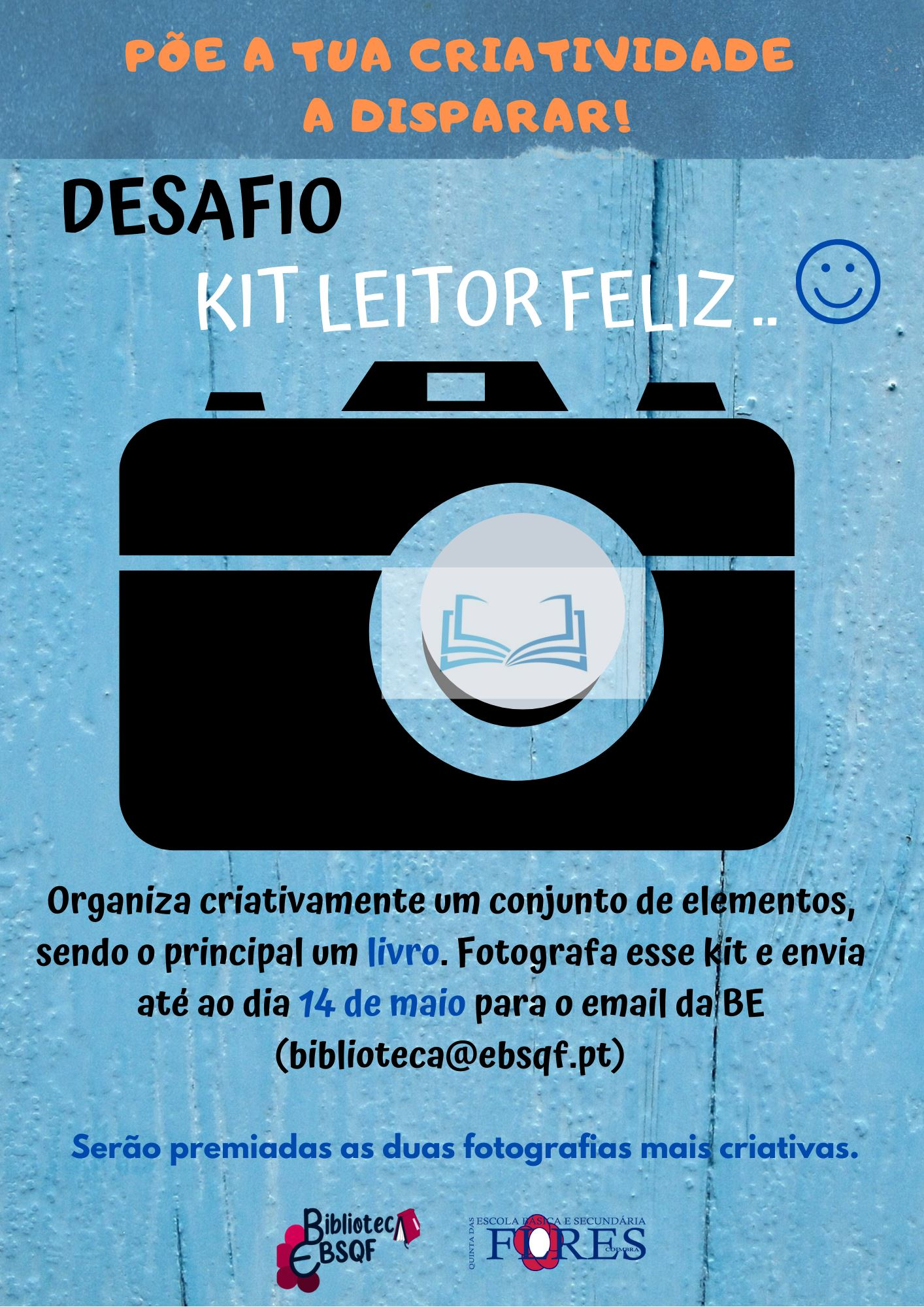 "Desafio ""Kit do Leitor Feliz"""