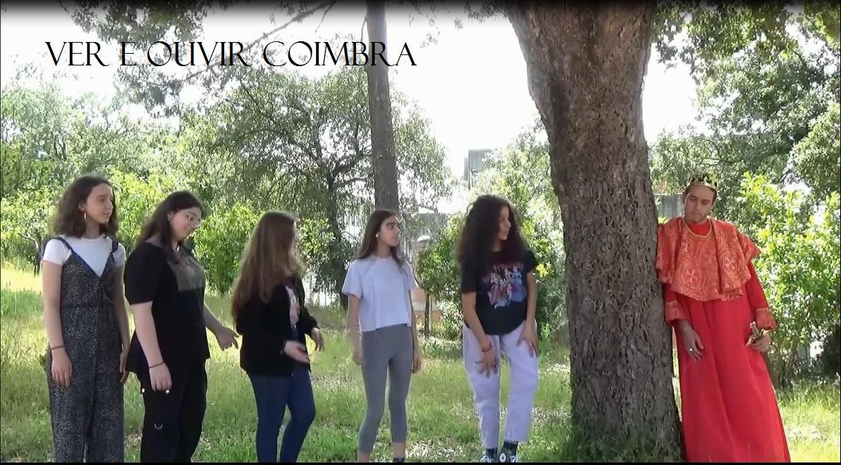 """Trabalho realizado no âmbito da Exposição Virtual """"Ver e Ouvir Coimbra"""""""