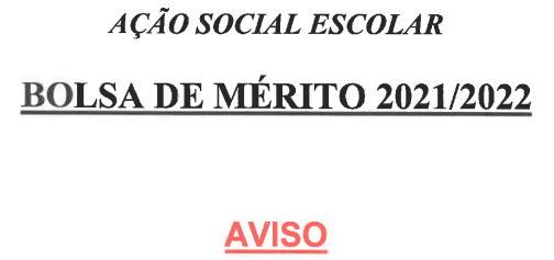 Bolsas de Mérito 2021-2022