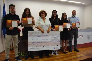 """Alunos da escola ganham prémio no concurso """"Novas Fronteira da Engenharia 2021"""""""